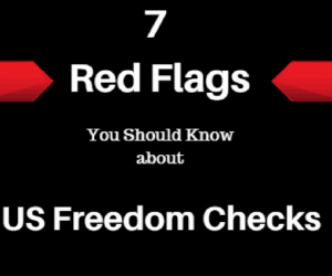 us freedom checks 2018 flag exposed is it a scam?