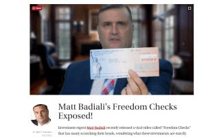 us freedom checks 2018 daily reckoning