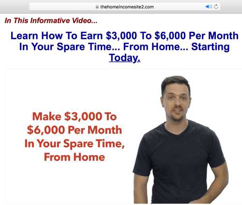 Is the Home Income System a scam?. It appears to be using deceptive practices and there are some red flags I am want to make you aware of.