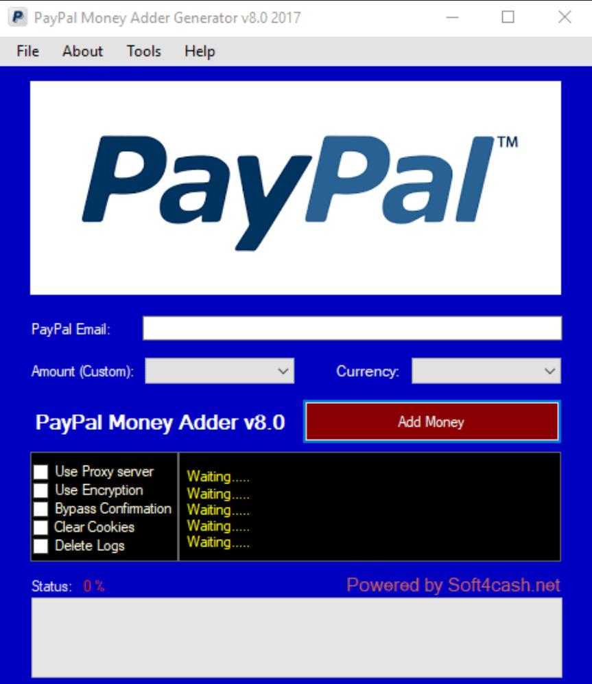 free paypal money adder cash generator tool legit tool 2017